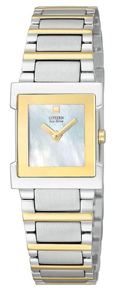 89a684495 Shop Citizen Eco-Drive Lucca Ladies Watch free ground shipping, guaranteed  authenticity, and a 30 day money-back guarantee.