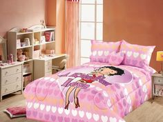 Betty Boop A Kiss For Love Queen Bedding Comforter Bedding Set Queen Comforter Sets, Queen Beds, Duvet, Betty Boop Gifts, Full Bed, Queen Size, Comforters, Kiss