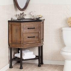 Shop for Harper Blvd Ballard Granite Top Corner Bath Vanity Sink. Get free delivery at Overstock.com - Your Online Furniture Outlet Store! Get 5% in rewards with Club O!