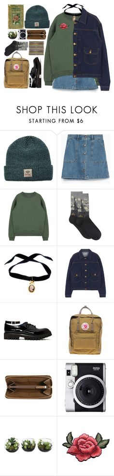 """""""☺"""" by alxmee ❤ liked on Polyvore featuring Diamond Supply Co., Zara, HOT SOX, Bisou Bijoux Ariela, Jeffrey Campbell, Fjällräven, Burberry and Fuji"""