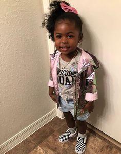 Cute Black Babies, Black Baby Girls, Beautiful Black Babies, Cute Baby Girl, Black Kids, Cute Little Girls Outfits, Cute Girls, Kids Outfits, Cute Kids Fashion