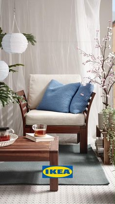 Outdoor Chairs, Outdoor Furniture, Outdoor Decor, Ikea Garden Furniture, Ikea Outdoor, Outdoor Cinema, Patio Dining, Dining Chairs, Outdoor Dining