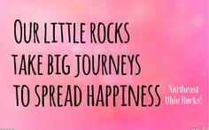 Find us on Facebook at Northeast Ohio Rocks! We paint rocks and hide rocks as an act of random kindness #northeastohiorocks