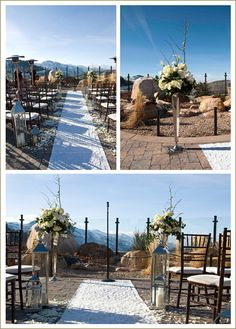 Party Palette: neutrals and naturals—the perfect complements to Utah scenery  Utah Bride and Groom