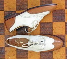 Ralph Lauren shoes - vintage oxford spectators wingtip broques Italy women size 7 Leather Label, Ralph Lauren Shoes, Dream Shoes, Lady And Gentlemen, Coups, Vintage Shoes, Brogues, Shoe Game, Costume Design