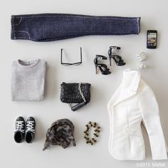"""56.5k Likes, 857 Comments - Barbie® (@barbiestyle) on Instagram: """"Everything you need for a perfect day-to-night look. ☑️ #barbie #barbiestyle"""""""