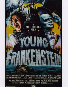 YOUNG FRANKENSTEIN AUTOGRAPHED PHOTO SIGNED BY MEL BROOKS