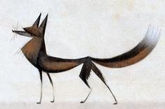 Fox Drawing Grennian by =Skia
