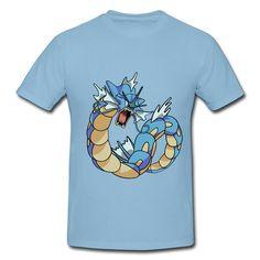 Pokemon Gyarados Men's T-shirt on Sale-Art & design T-shirts | HICustom.net