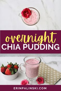 Overnight Chia Pudding is a great meal prep recipe because it can be made ahead of time and in batches. My Cheesecake Chia Pudding is not only low carb and keto friendly, it's vegan too!