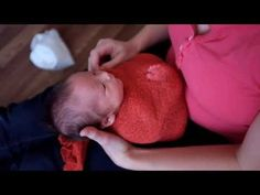 ▶ Basic newborn wrap tutorial - YouTube