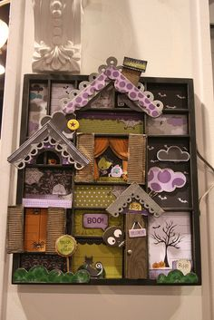 Spooky printer tray from Bella Blvd's booth at CHA