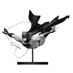 Jock Batman Black and White statue