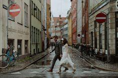 Copenhagen Wedding Photographer // Danny & Kate - The Kitcheners Pre Wedding Photoshoot, Wedding Shoot, Wedding Couples, Wedding Tips, Wedding Stuff, Wedding Photography Tips, Couple Photography, Street Photography, Concept Photography