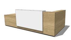 Reception Desk Design Custom 9