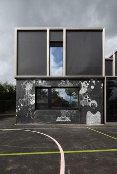 Passive House with Textile Skin / BLAF Architecten © Stijn Bollaert