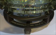 Fourth Order Fresnel lens from Plum Island Rear Range Light Plum Island, Great Lakes, Lighthouses, Lens, Range, Photography, Fotografie, Stove, Photography Business