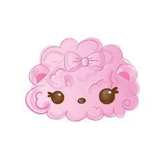 Cotton Candy Eraser Character   Num Noms