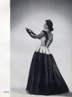 Worth 1944 Evening Gown, Photo Elshoud