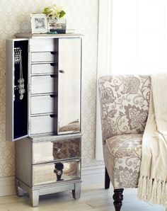 The Splurge, Part 1: A jewelry armoire—for the Virgo that has a lot of organizing to do