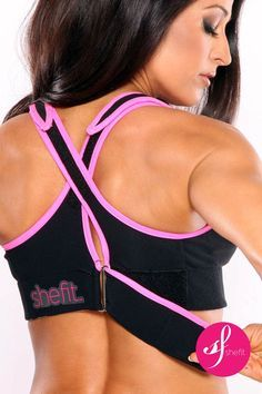 5e814db866 ... reduce bounce by with the right bra strap  Say goodbye to painful  breasts making your workouts and running more enjoyable. Shefit high impact  sports bra ...