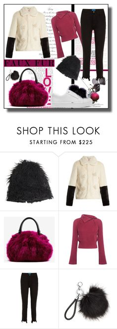 """""""Wow!"""" by kelly-floramoon-legg ❤ liked on Polyvore featuring Marni, Shrimps, Dries Van Noten, 10 Crosby Derek Lam, M.i.h Jeans, Sam Edelman, fauxfur and polyvoreeditorial"""