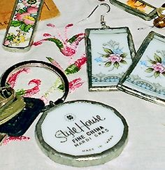 Learn the art of transforming old, chipped, or cracked plates into gorgeous one of a kind jewelry and accessories.    Create keepsakes and gifts...