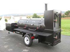 bbq smokers | Home  BBQ Smokers / Pits  TS500 BBQ Smoker Trailer