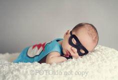 My lil superhero
