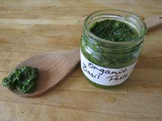 Basil Pesto with Spirulina Recipe (Raw food & Vegan)