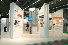 UNI Packaging presence at Emballage Packaging exhibition #exhibition #standdesign