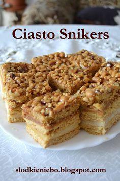 Słodkie niebo: Ciasto Snikers