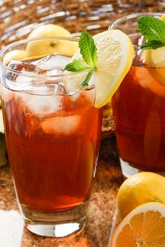 Mint Tea Lemonade