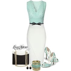A fashion look from April 2014 featuring Jane Norman tops, Jane Norman skirts y Ivanka Trump pumps. Browse and shop related looks.