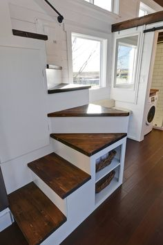 Tiny Living Homes Custom THOW with Double Vanity Sink and Full Kitchen 0011