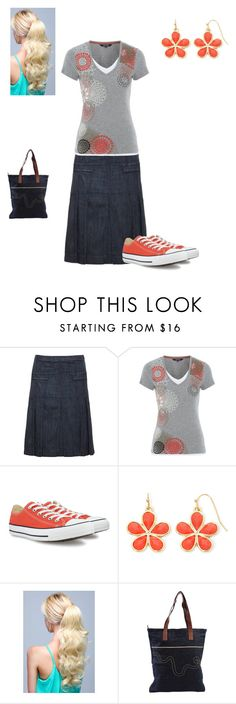 """""""Just a day out"""" by georgia-girl15 ❤ liked on Polyvore featuring Maine New England, Converse, Liz Claiborne and WeSC"""