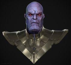 Thanos, Adam Fisher on ArtStation at https://www.artstation.com/artwork/8l9w