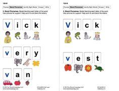 Blend Phonemes: Lesson 11, Book 13 (Newitt Decoding Series)