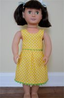 Free patterns for American Girl and other 18″ dolls