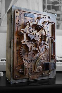 steampunk safe box - Google Search