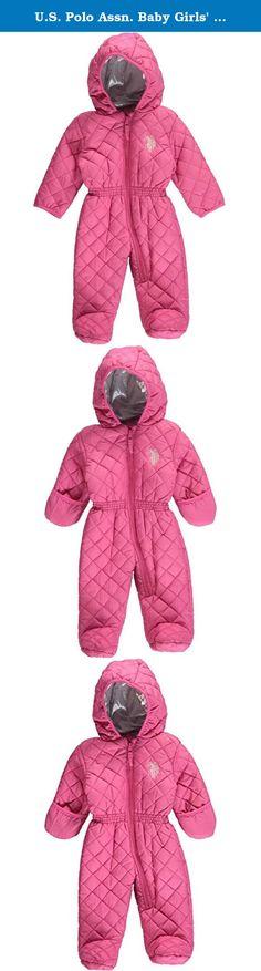 Steve Madden Girls Heavyweight Insulated Ski Jacket and Snow Bib Snowsuit Set Infant//Toddler
