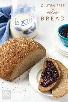 Gluten-Free, Vegan Homemade Bread (that doesn't suck)