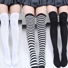 Чулки гольфы Новая Мода женские Носки Сексуальная Теплый Бедра высоко Над Коленом Носки Длинные Чулки Для Девочек Дамы женщины