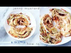 HOW TO : homemade vegan kimchi | jenny mustard