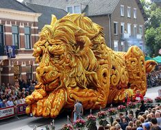 The Sleeping Giant - Flower Parade Corso Zundert