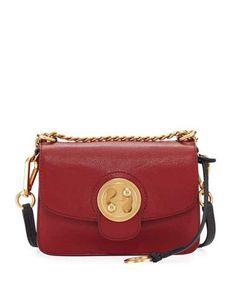 V3K8L Chloe Mily Small Leather Shoulder Bag Leather Shoulder Bag 2d243556f693b
