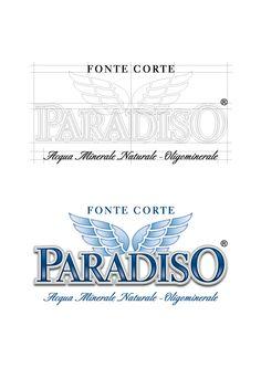 #Ideazione e #progettazione del #logo della #acquaminerale #Acqua #Paradiso www.altrementi.it
