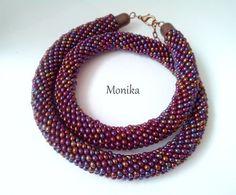 Beading, Beaded Necklace, Jewelry, Fashion, Beaded Collar, Moda, Beads, Jewlery, Pearl Necklace