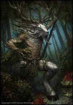 Satyrs, Centaurs or any hoofed being