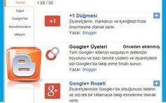 Blogger Yeni Gadgetlerinizle Tanışın | Adnan Güney